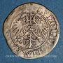 Monnaies Alsace. Strasbourg. Evêché. Jean de Manderscheid (1569-1592). 2 kreuzers 1579. Molsheim