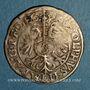 Monnaies Alsace. Strasbourg. Evêché. Jean de Manderscheid (1569-1592). 3 kreuzers 1578. Molsheim