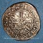 Monnaies Alsace. Strasbourg. Evêché. Jean de Manderscheid (1569-1592). 3 kreuzers 1583. Molsheim