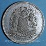 Monnaies Alsace. Strasbourg. Excursion de La Chorale aux trois Epis. 1876. Médaille étain. 25 mm