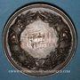 Monnaies Alsace. Strasbourg. Exposition agricole. 1881. Médaille cuivre. 50,9 mm. Gravée par W. Mayer