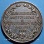 Monnaies Alsace. Strasbourg. Exposition apicole. 1903. Médaille argent. 42,5 mm