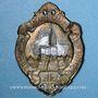Monnaies Alsace. Strasbourg. Fête de la jeunesse. 1913. Insigne en laiton 22 x 31 mm