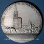 Monnaies Alsace. Strasbourg. Foire-exposition. 1929. Médaille bronze argenté. 49,4 mm. Gravée par Ch. Müller