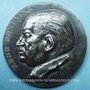 Monnaies Alsace. Strasbourg. Hommage au docteur René Fontaine. 1961. Médaille argent. 50,5mm. Par René Hetzel