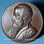Monnaies Alsace. Strasbourg. Jean Sturm (1507-1589). 1838. Médaille. Cuivre. 50 mm. Gravée par Kirstein