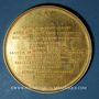 Monnaies Alsace. Strasbourg. Jean Sturm (1507-1589). 1838. Médaille. Cuivre doré. 50 mm. Gravée par Kirstein