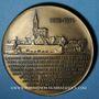 Monnaies Alsace. Strasbourg. Jean Wenger-Valentin 1892-1975 (1981). Médaille bronze. 60 mm. Par G. Britschu