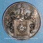 Monnaies Alsace. Strasbourg. Louis Victor Schwartz, 1896. Médaille argent
