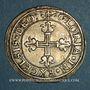 Monnaies Alsace. Strasbourg. Municipalité. Dreibaetzner (= 12 kreuzers) (1623-1640)
