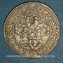 Monnaies Alsace. Strasbourg. Municipalité. Dreibaetzner (= 12 kreuzers) (1640-1658)