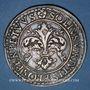 Monnaies Alsace. Strasbourg. Municipalité. Taler de tir 1590