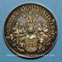 Monnaies Alsace. Strasbourg. Naisssance de Maurice Himly. 1891. Médaille argent. 30,5 mm.