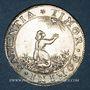 Monnaies Alsace. Strasbourg. Prix d'Académie. 1683. Jeton argent. 25,76 mm