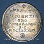 Monnaies Alsace. Strasbourg. Prix d'Académie. 1691. Jeton argent. 29,92 mm