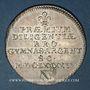 Monnaies Alsace. Strasbourg. Prix d'Académie. 1695. Jeton argent. 29,92 mm