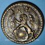 Monnaies Alsace. Strasbourg. Sceau des corporations. Médaille bronze. 51,7 mm