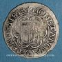 Monnaies Alsace. Thann. 2 batz 1624