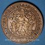 Monnaies Alsace. Thann. 8e centenaire. 1961. Médaille bronze. 40,5 mm