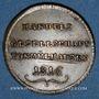 Monnaies Association des Commerçants. Jeton 1816. Laiton (traces d'argenture)