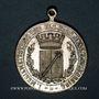 Monnaies Colmar. 10e anniversaire du Cercle catholique de musique de Colmar. 1903. Médaille laiton argenté
