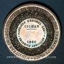 Monnaies Colmar. Concours régional agricole. 1860. Médaille argent. 41,42 mm. Gravée par Caqué