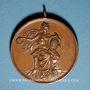 Monnaies Colmar. Corso. Compétition cycliste des clubs vélocipédiques colmariens. 1899. Médaille cuivre