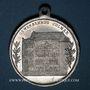 Monnaies Colmar. Inauguration de la Maison du Commerce. 1902. Médaille aluminium. 29,26 mm, avec son œillet