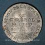 Monnaies Colmar. Inauguration de la statue de Rapp. 1856. Plomb. 25,5 mm