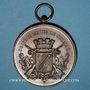 Monnaies Colmar. Société de tir – 25e ann. de la présidence du vicomte Paul de Bussierre. 1857-92. Cuivre