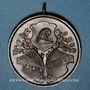 Monnaies Guebwiller. 4e tournoi de gymnastique des associations d'Alsace et de Lorraine 1898. Médaille Cuivre