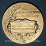 Monnaies Guebwiller. E. Hartmann, président de la Direction de l'Agriculture d'Alsace & Lorraine. Argent doré