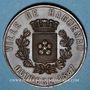 Monnaies Haguenau. Expo. internationale de houblon, de bières & de matériels de brasserie. Médaille 1867