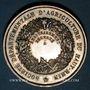 Monnaies Haut-Rhin. Société départementale d'agriculture du Haut-Rhin–Prix d'encouragement. Argent. 36,38 mm