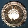 Monnaies Haut-Rhin. Société départementale d'agriculture du Haut-Rhin–Prix d'encouragement. Médaille argent