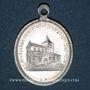 Monnaies Hohatzenheim (67). Souvenir de l'église (fin 19e - début 20e). Aluminium. Ovale avec anneau