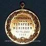 Monnaies Huningue. Tournoi de gymnastique. 1907. Bronze. 28,72 mm, avec son œillet