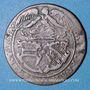 Monnaies Landgraviat d'Alsace. Ensisheim. Jeton à compter. Cuivre. 25,9 mm