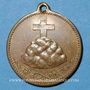 Monnaies Mulhouse-Dornach. Société de Chant - Consécration du drapeau. 1897 médaille. Bronze. 27 mm.