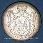 Monnaies Murbach et Lure. François Antoine Benoît Frédéric, comte d'Andlau-Hombourg (1785-90) Médaille argent
