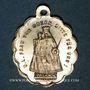 Monnaies Oderen. Souvenir de la Chapelle Notre Dame du Bon Secours (fin 19e – début 20e). Médaille laiton arg