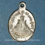 Monnaies Oderen. Souvenir du pèlerinage de Notre Dame d'Oderen (fin 19e – début 20e). Médaille laiton argenté