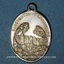 Monnaies Pfaffenheim. Sanctuaire du Schauenberg. Médaille. Laiton argenté (traces d'argenture)