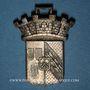 Monnaies Sainte-Marie-aux-Mines. Manifestation. 1899. Bronze argenté et découpé aux contours du motif