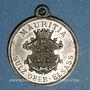 Monnaies Soultz. Société de gymnastique Mauritia. Tournoi des cercles de jeunesses catholiques 1901. Médaille