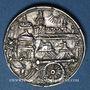 Monnaies Strasbourg. Concours de tir 1590. Médaille argent. 20,08 mm. Coulée