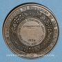 Monnaies Strasbourg. Concours régional d'Agriculture. Produits agricoles. 1859. Médaille bronze