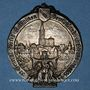 Monnaies Strasbourg. Congrès catholique. 1905. Médaille étain argenté