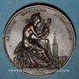 Monnaies Strasbourg. Fête musicale. 1830. Cuivre. 41 mm. Gravée par Kirstein