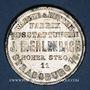 Monnaies Strasbourg. J. L. Erlenbach (lingerie, confection). Médaille zinc nickelé. 29,17 mm